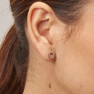 Pendientes Great Western Simple