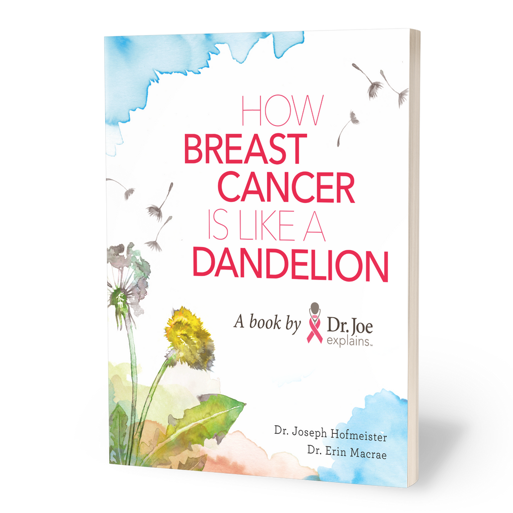 how breast cancer is like a dandelion book pack