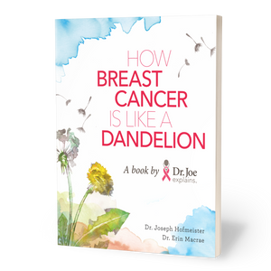 how breast cancer is like a dandelion book cover