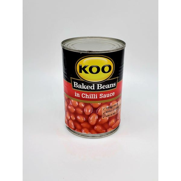 Baked beans In Chilli Sause