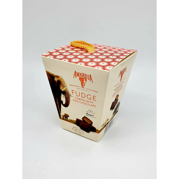 Amarula Fudge Coated with Milk Chocolate