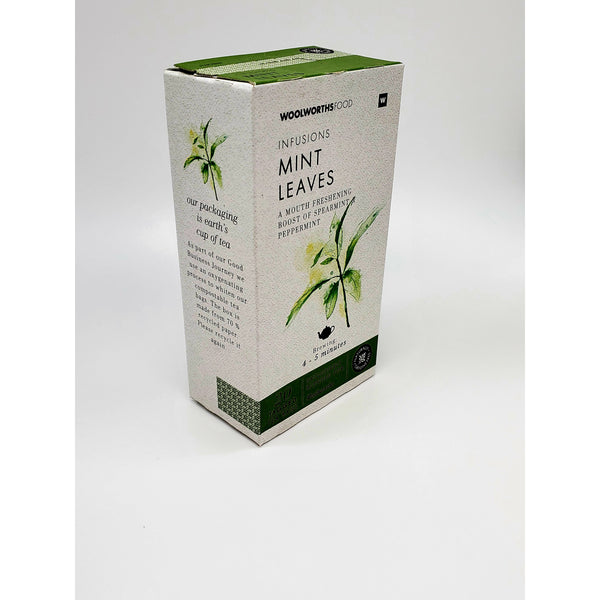 Woolworths Mint Leaves Tea