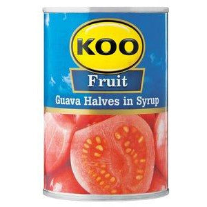 Koo Fruit - Guava Halves in Syrup 410g