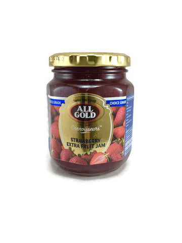 All Gold Extra Fruit Strawberry Jam 320g
