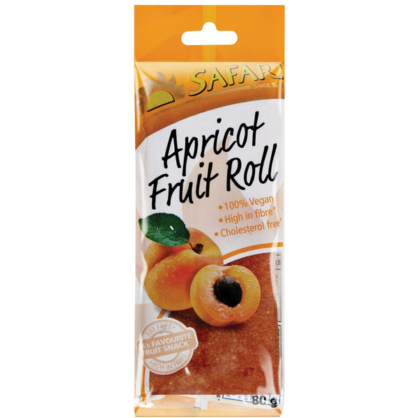 SAFARI Apricot Fruit Roll 80g