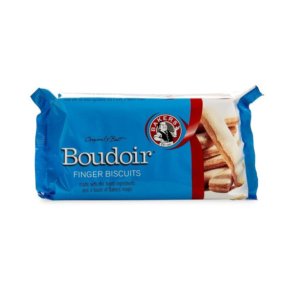 Bakers Boudoir Finger Biscuits 125g