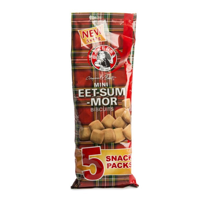 Bakers Mini Eet-Sum-Mor Biscuits 40g
