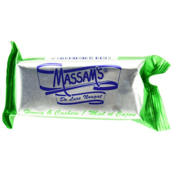 MASSAM'S Honey Cashew Nougat 25g