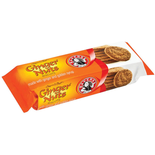 BAKERS Ginger Nuts Biscuits 200g