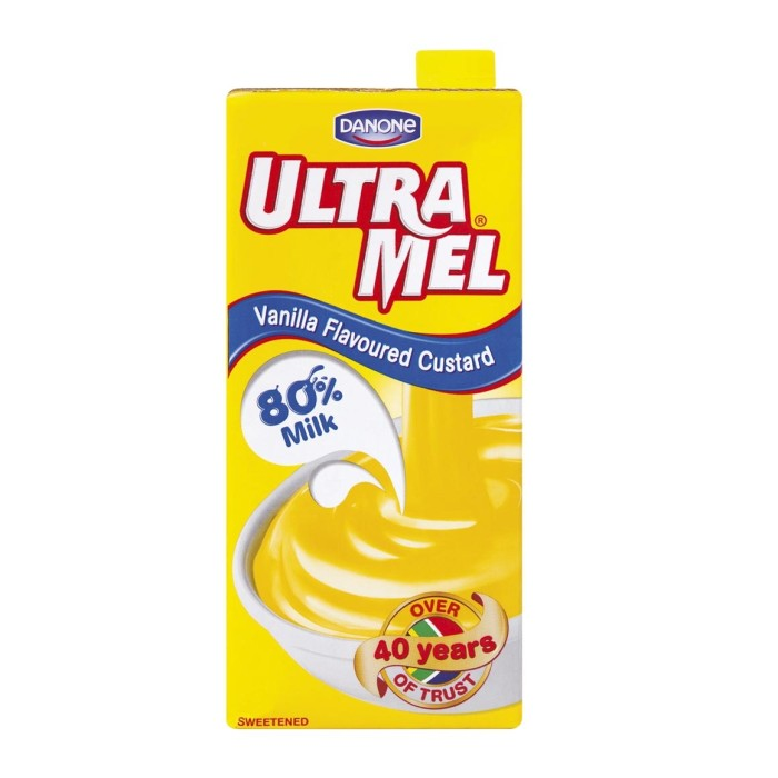Danone Ultra Mel Vanilla Custard 500mL