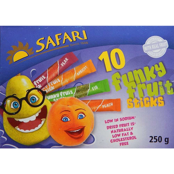 Safari Fruit Sticks 10x25g