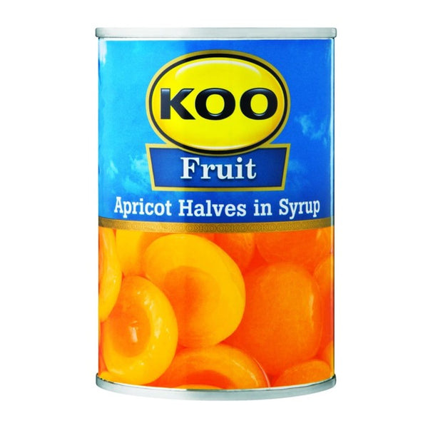 Koo Fruit - Apricot Halves in Syrup 410g