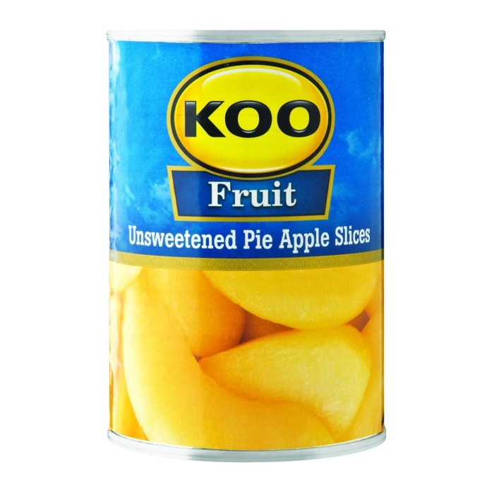 Koo Fruit - Unsweetened Pie Apple Slices 385g