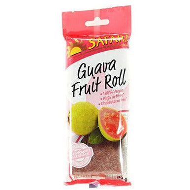 Safari Fruit Rolls - Guava 80g