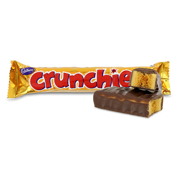 CADBURY Crunchie honeycomb milk chocolate 40g