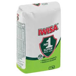 Iwisa Maize Meal 1 Kg