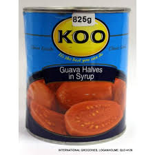 Koo Fruit - Guava Halves in Syrup 825g