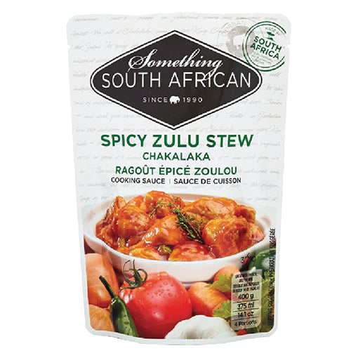 Something South African - Zulu Chakalaka Sauce 400g