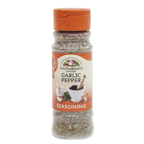 Ina Paarman Seasoning - Garlic & Pepper 200mL