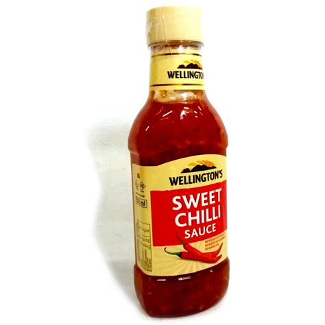 Wellington's Chili Sauce - Sweet 375mL