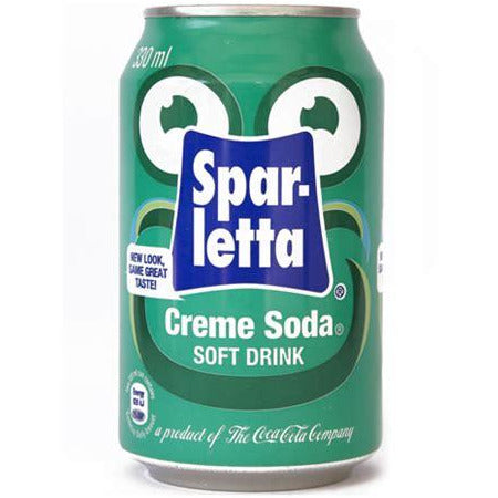 Sparletta Cream Soda 330mL