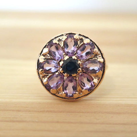 products/42863-aditagold-ring-vintage-jewelry-rose-gold-blue-sapphire-4mm-oval-amethyst-5x3mm-1.jpg