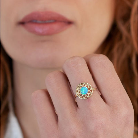 products/43482-aditagold-ring-vintage-jewelry-yellow-gold-blue-opal-6mm-2.jpg