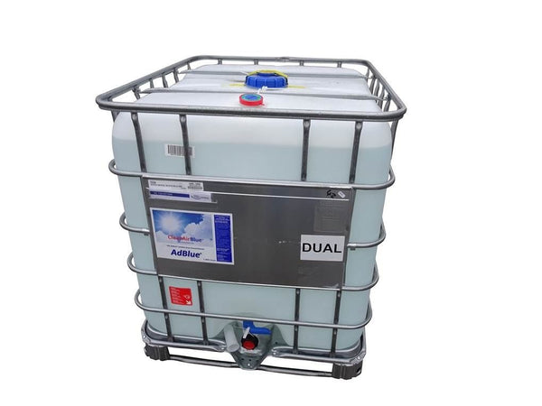 ClearAirBlue 1000 litre IBC AdBlue - Bottom Feed
