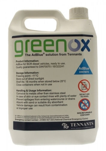 Greenox 10 litre AdBlue - Comes with Free Pouring Spout