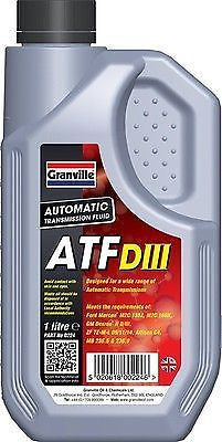 Granville 0224 Automatic Transmission Fluid ATF Dexron 3 Power Steering Oil 1L - Flying Penguin Autoparts