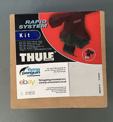 Thule 131 Roof Bar Fitting Kit - Nissan - Flying Penguin Autoparts