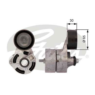 Gates T39108 Drivealign Alternator Belt Tensioner to fit Ford Transit 2.4 TDCi 2006 - 2014 - Flying Penguin Autoparts