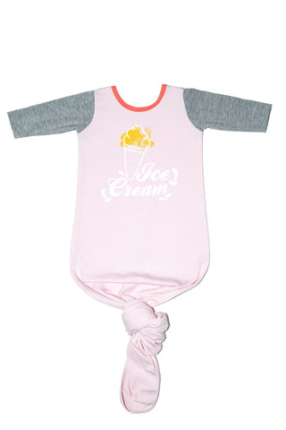 Body Pouch Ice Cream Rosa Bebe