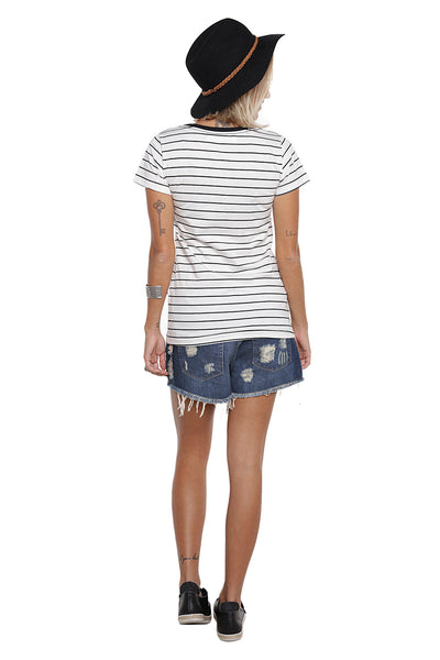T-Shirt Style Stripes Listrada