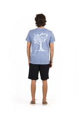 T-Shirt Life Tree Cinza