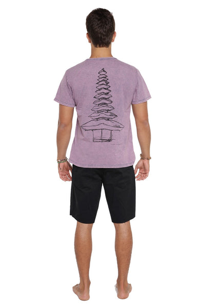 T-Shirt Temple Azul