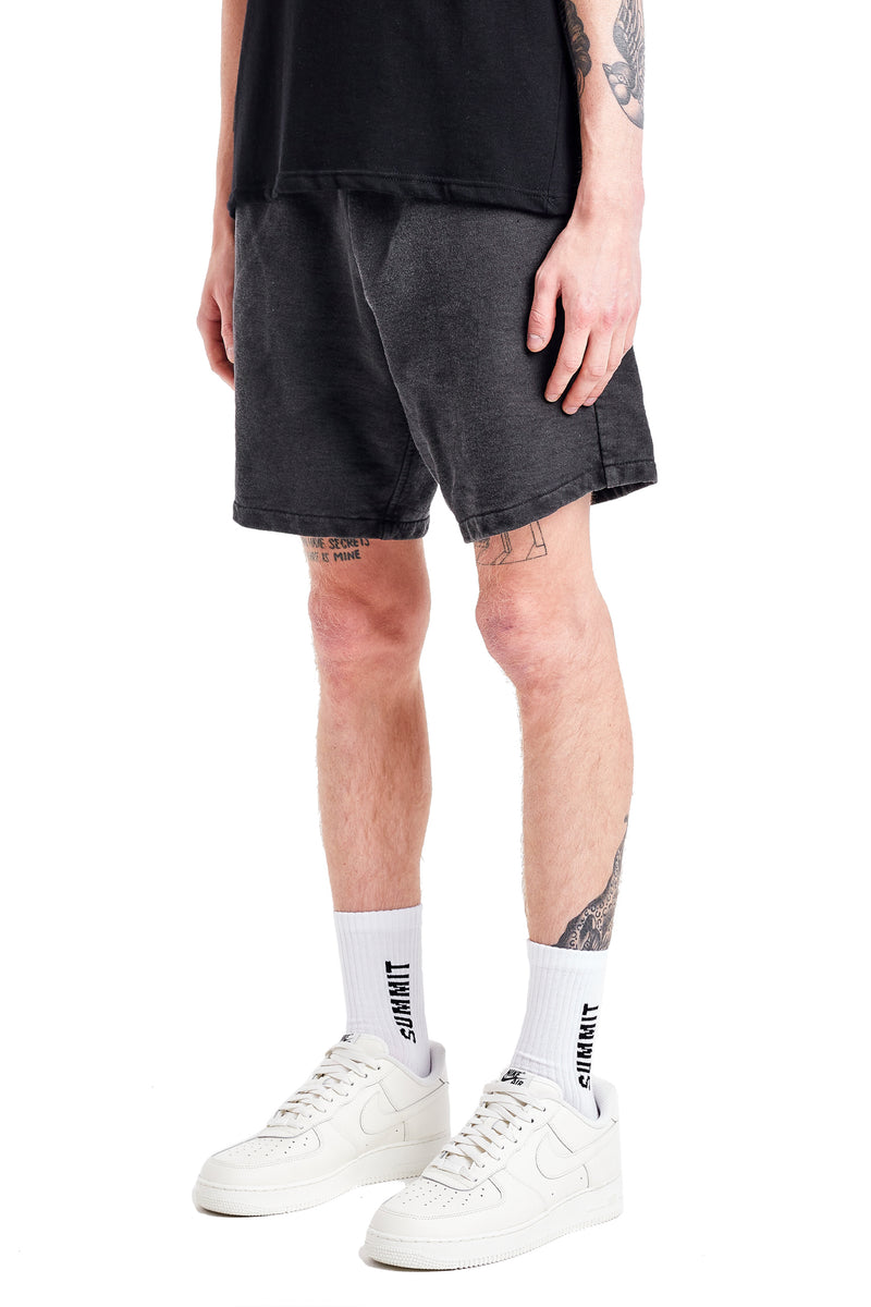 WORK SHORT - WASHED BLACK