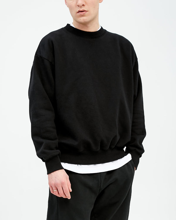 WORK SWEAT - BLACK