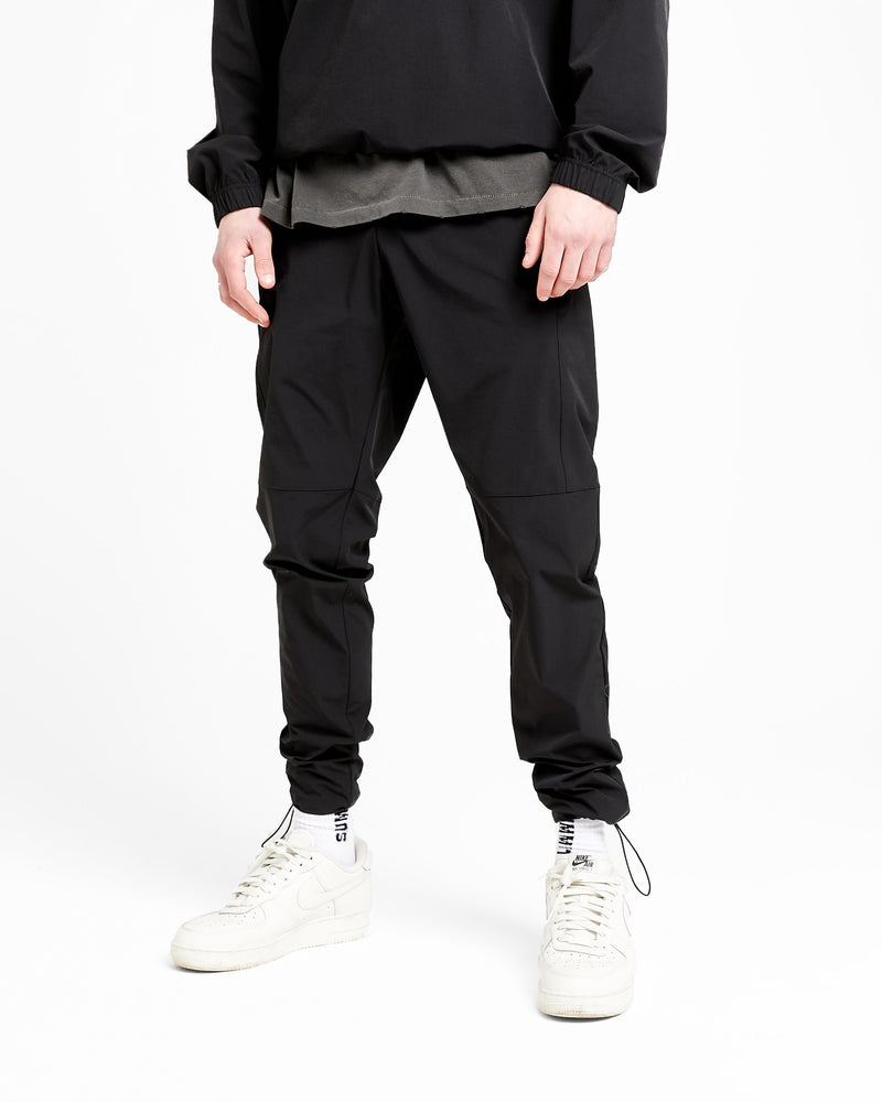 PULLER FLIGHT TRACK PANT - BLACK