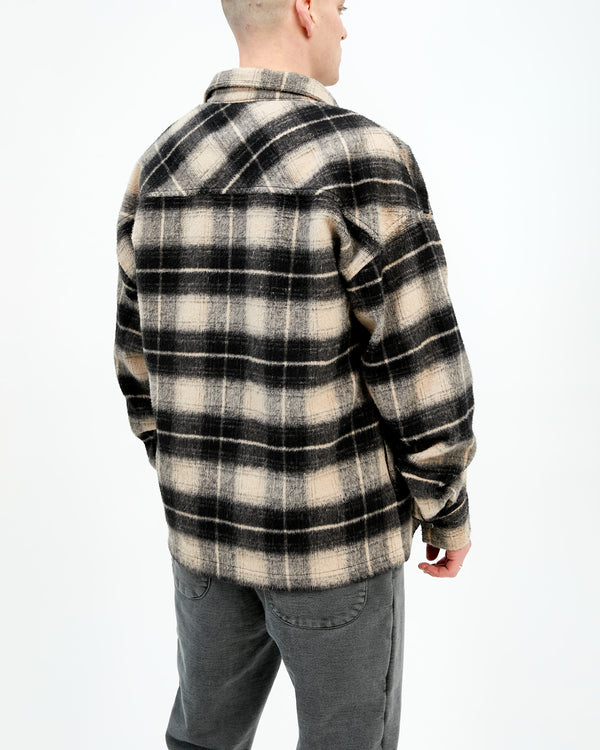 HEAVYWEIGHT FLANNEL - BEIGE