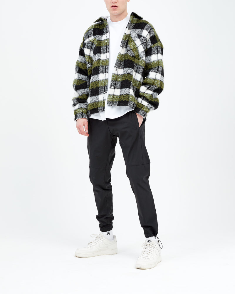 HEAVYWEIGHT FLANNEL - OLIVE