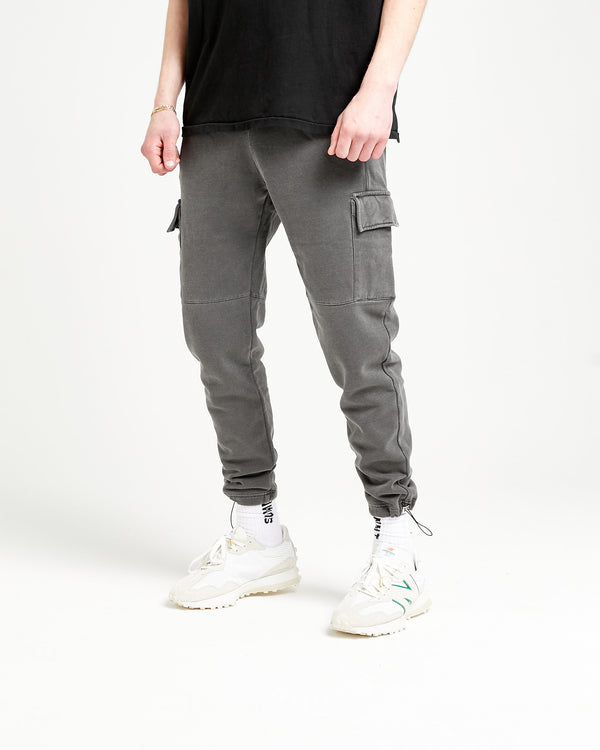 CARGO FLIGHT SWEATPANT - VINTAGE GREY