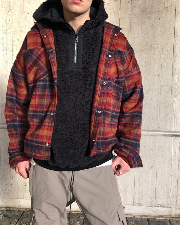 HEAVYWEIGHT FLANNEL - ALMOND