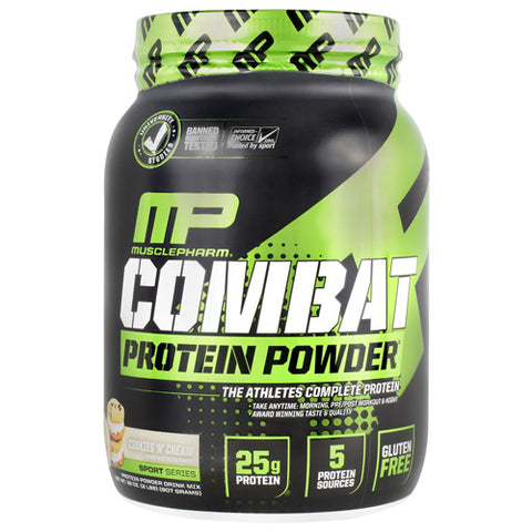 MUSCLEPHARM SPORT SERIES COMBAT PROTEIN POWDER (2lb)
