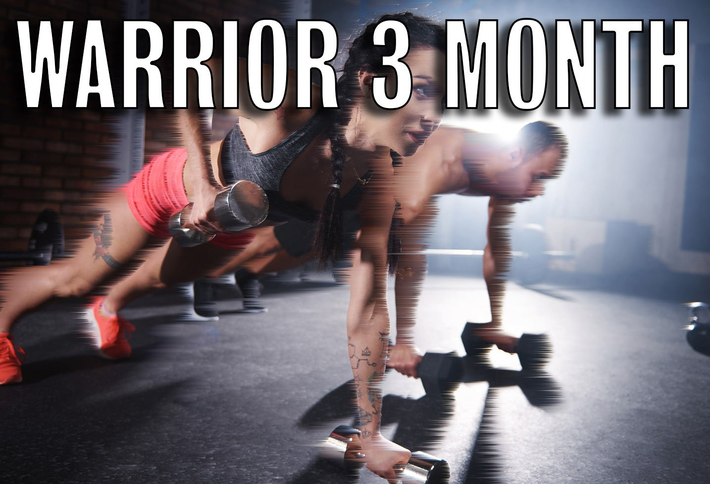 Warrior 3 Month Prepay