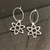 Atom Hoop Earrings
