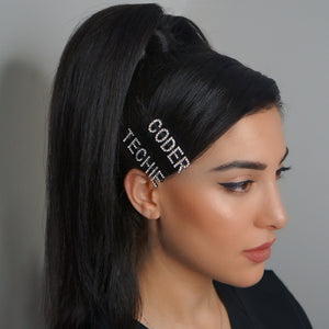 CODER Hair Pin