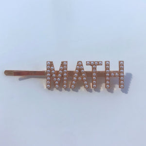 Coding Crystals Hair Pins