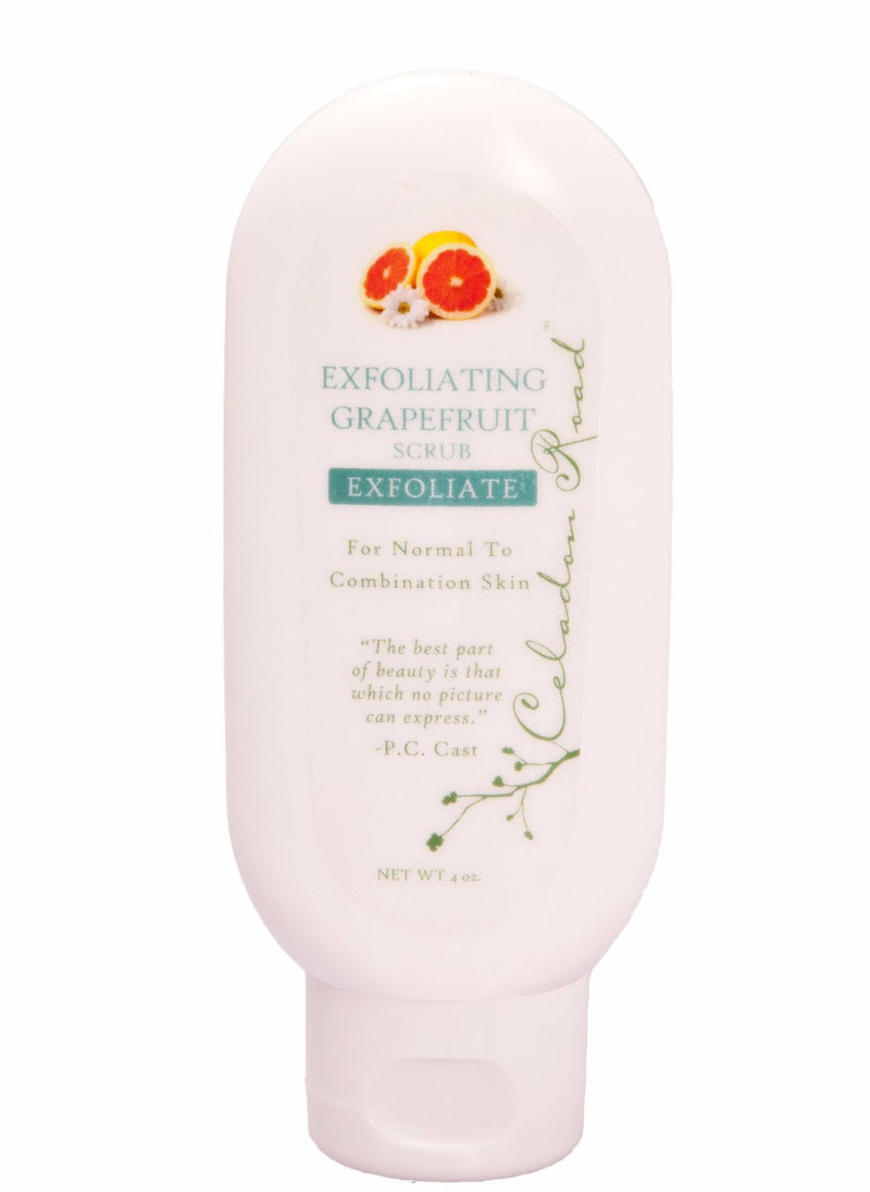Exfoliating Grapefruit Scrub (Normal to Combination)- Celadon Road- www.celadonroad.com