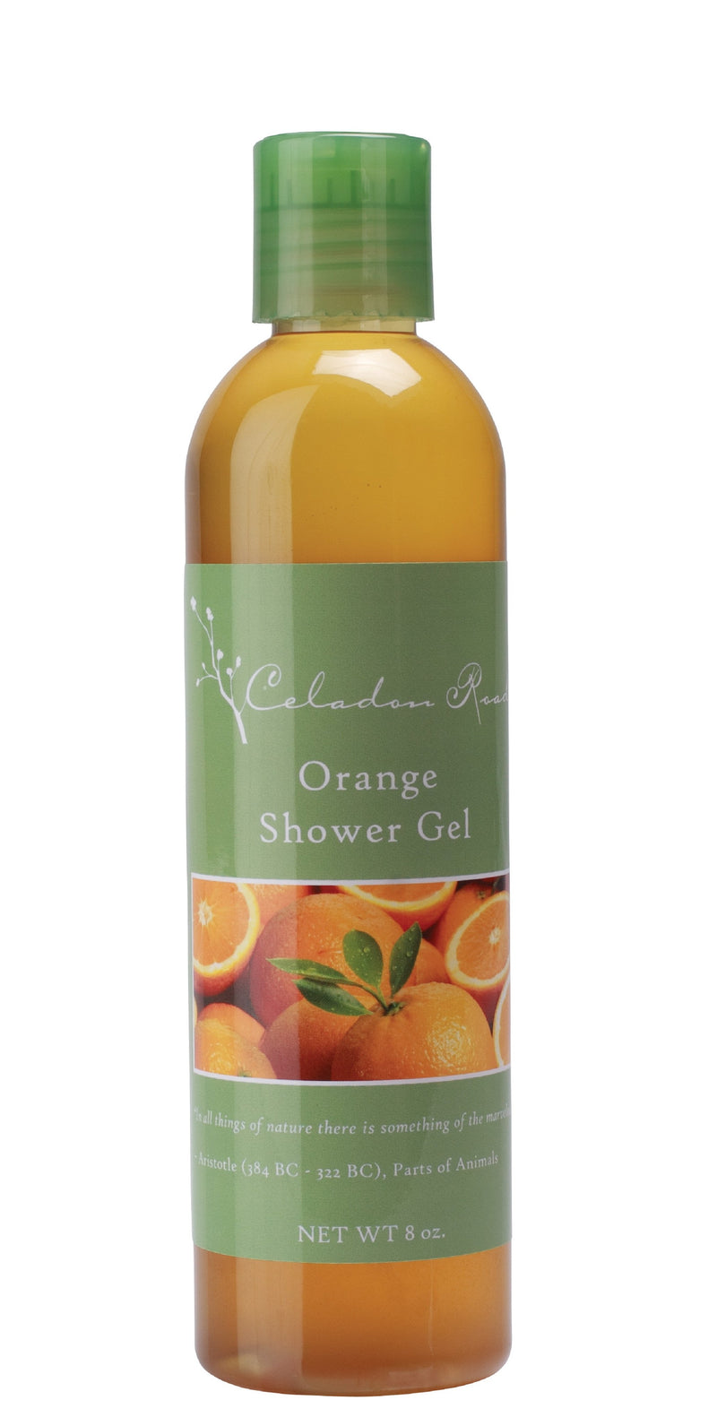 Orange Shower Gel- Celadon Road- www.celadonroad.com